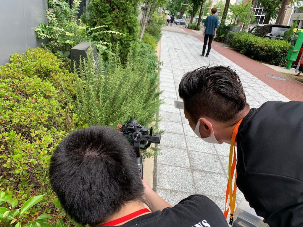 ネット動画クリエーター 撮影