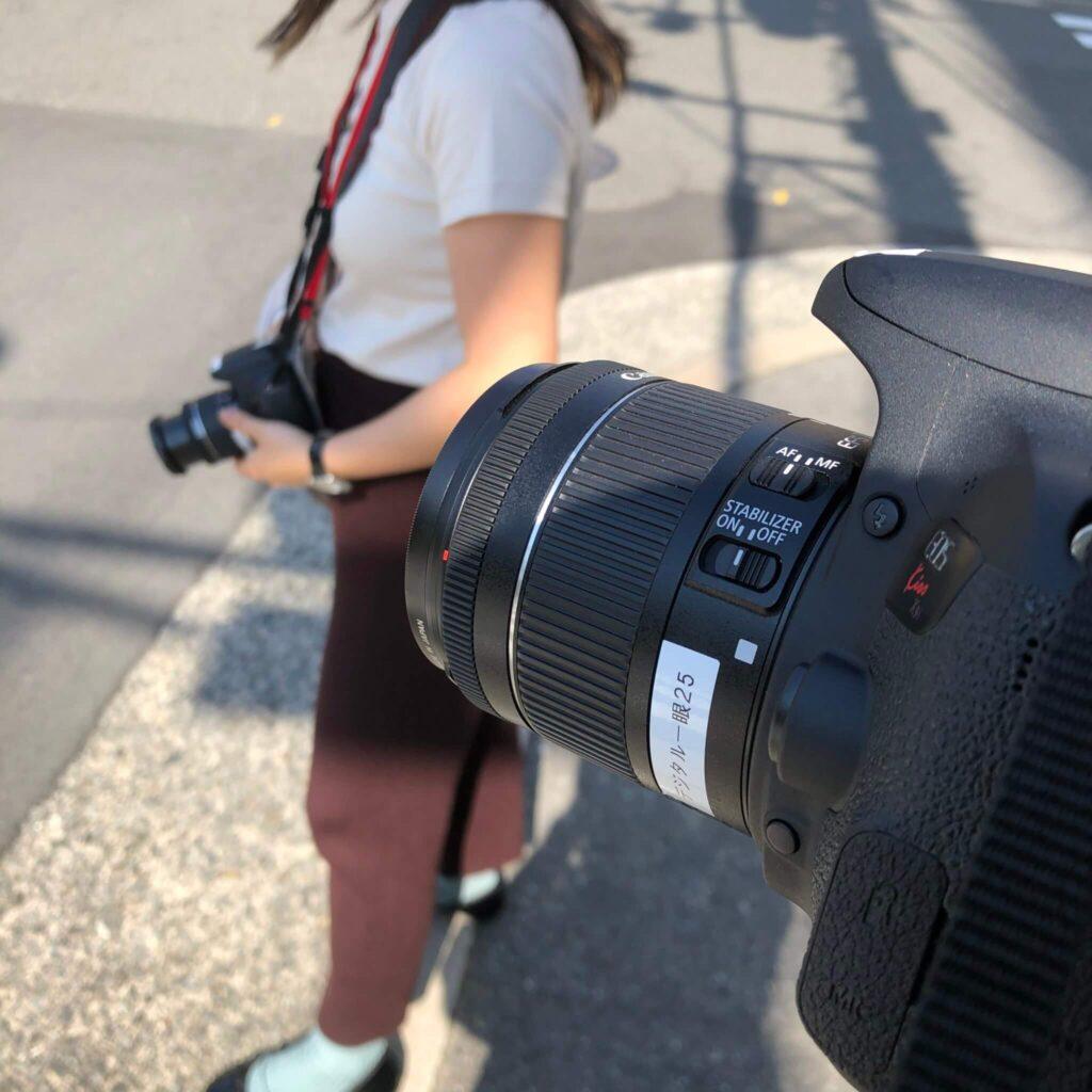 フォトグラフィ 一眼レフカメラ