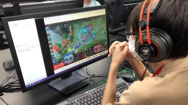 e-sports プロゲーマー実習